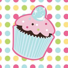 I'm just totally in the mood to eat this cupcake!