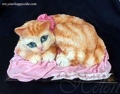 cat cake | kitten cake
