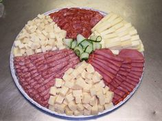 Meat and Cheese Tray Meat Cheese Platters, Deli Platters, Meat Trays, Party Food Platters, Meat Platter, Deli Tray, Party Trays, Food Trays, Best Party Appetizers