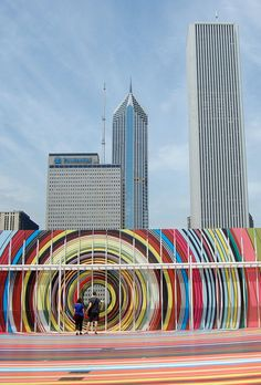 Restless Rainbow, the installation, Chicago