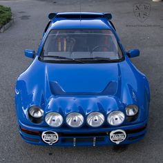 Ford Cosworth RS200 Evo S gets detailed at NWAS