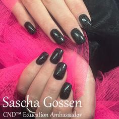50 shades of...... #CND #SHELLAC brand 14+ day nail color #BlackPool #CNDWorld #nailart #sanding #naildesign #nails #stamping #stamps #stampingnailart #nailtech #nailpro #black #CNDShellac #CNDGoWithAPro #CNDWorld #CNDNederland