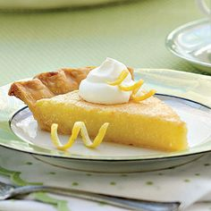 Lemon Chess Pie Recipe - Old-Fashioned Pies & Cobblers Recipes - Southern Living