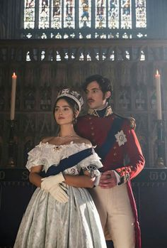 Victoria - queen Victoria and Prince Albert