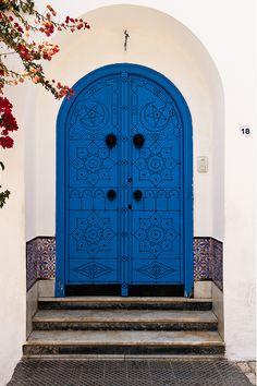 Doors of Sidi Bou Said. By Christopher Rose(Tunisa, Chase & Saida!)