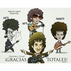 Gracias Totales..! Soda Stereo, Rock Argentino, Spanish Music, Rock Artists, My Favorite Music, Music Bands, Rock And Roll, Instagram Posts, Anime