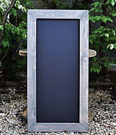 Rustic Chalkboard 48x24, Framed Chalkboard, Rustic Wedding, Spring Wedding, Wedding Sign, Ceremony, Reception, Menu Sign,Bar Sign,Blackboard
