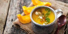 Tekvicová polievka s mrkvou Rocky Road, Saveur, Raw Vegan, Vegan Food, Thai Red Curry, Vegan Recipes, Pasta, Ethnic Recipes, Drink