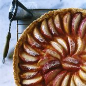 This beautiful, easy-to-make peach tart is summer in dessert form.