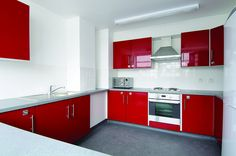 Shared kitchen in Marylebone Hall, University of Westminster