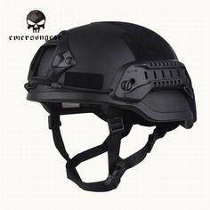 FMA Tactical MICH ACH 2000 Helmet Rail Accessories Set Hunting Military Black