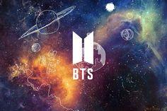 BTS, New Logo, wallpaper