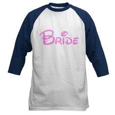 Disney Bride Baseball Jersey