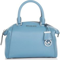 Michael Kors Borse con manico, Riley SM Satchel Sky blau fashionette blu Pelle