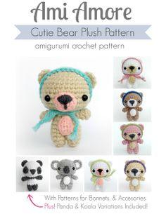 Ami Amore's Cutie Bear Amigurumi Pattern