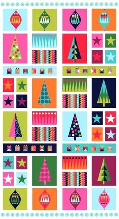 Christmas Wrap Fabric panel 1613-1. Makes great table runner / cushions!