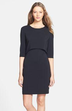 'Shira' Crepe Popover Dress / Cynthia Steffe