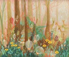 """Woodland"" by Aaron Piland, Ayumi Piland, Betsy Walton, Jill Bliss, Yellena James"