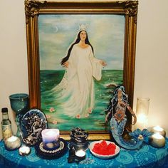 Honoring #Yemaya #Iemanja #Yemonja today #September7 #Sacred to Her in some #spiritual traditions & places.  #Thankful for Her #Blessings over the years. #GoddessYemaya #OceanMother