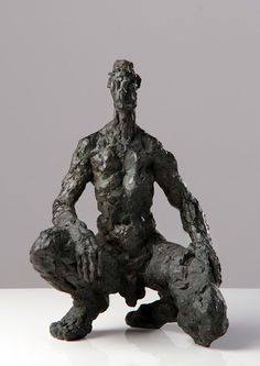 Sculptures de Anne Tregloze Sculpture Clay, Sculpture Ideas, Art Sculptures, Ceramic Sculptures, Bronze, Expositions, Male Poses, Male Figure, Clay Art