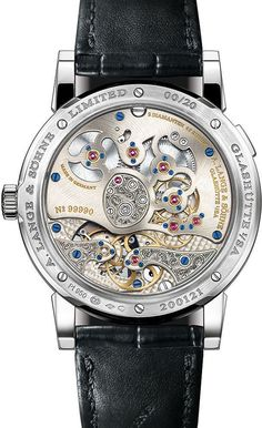 Lange 1 Tourbillon Handwerkskunst ref. in honor of 20 years of Lange 1 watches. Best Watches For Men, Fine Watches, Cool Watches, Men's Watches, Patek Philippe, Devon, Cartier, Omega, Watch Master