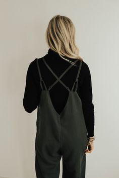 Cross Strap Back Jumpsuit | ROOLEE