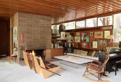 Richard Neutra had a major impact on Modernist architecture in southern California and his Reunion House in Silver Lake, occupied by his elder son and his family, remains one of the best, most authentic examples of his work