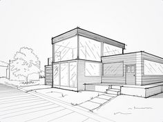 Architecture Sketches on Behance