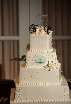 @palermobakery's creation for Karina and Omar's special day - Photo by MJR Photography - See more on newjerseybride.com