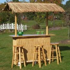 This Tiki bar looks like the one I got from World Market...It lives in my living room as sort of like a snack/bar area :)  I love it!
