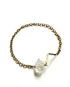 Chain Quartz Bracelet by JewelMint.com, $29.99