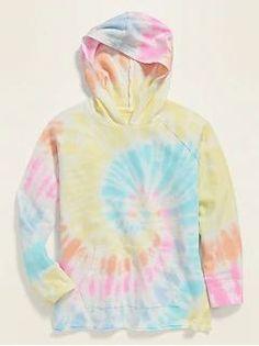 Tie-Dye Pullover Hoodie for Girls Tie Dye Shirts, Tie Dye Sweatshirt, Pullover Hoodie, Band Shirts, Diy Tie Dye Hoodie, Diy Shirt, Tye Dye, Bleach Tie Dye, Bleach Pen