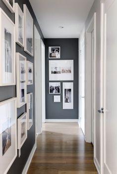 Contemporary Grey Hallway