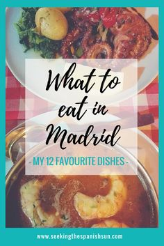 What to eat in Madrid - My 12 favourite dishes. All the best Spanish food. Travel blog post from Seeking the Spanish Sun www.seekingthespanishsun.com