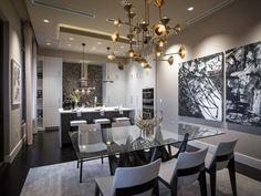 Dining Room From HGTV Urban Oasis 2014   HGTV