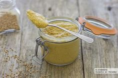 Mostaza casera Salsa Teriyaki Casera, Salsa Ranch, Veggie Recipes, Healthy Recipes, Deli Food, Marinade Sauce, Beautiful Soup, Dry White Wine, Cream Soup