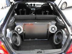 tiburon custom trunk | Body Kit - AIT racing (Zefiro Rondo) bodykit with custom carbon fiber ...