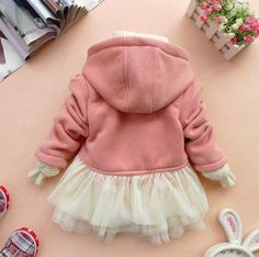 Add tulle to the bottom of a hoodie! Cuteness!