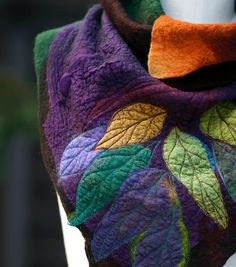 Painting Nature with Wool & Silk with Katia Mokeyeva from the USA
