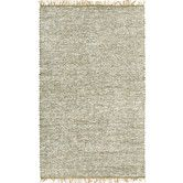 Another find for the new living room!  Found it at Wayfair - Matador White Leather/Natural Hemp Rug