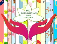 "Check out new work on my @Behance portfolio: ""ECO Digital Paper Pack"" http://be.net/gallery/50862183/ECO-Digital-Paper-Pack"
