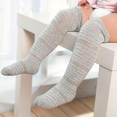 cfd74730fad 1 Pairs Baby Girls Socks Cotton High Socks For Baby Boys Girls Toddler born Kids  Girls