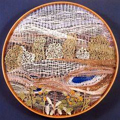 OTVÍRÁNÍ STUDÁNEK (B. MARTINŮ) - Kliknutím zavřete toto okno. Needle Lace, Bobbin Lace, Lace Art, Drawn Thread, Lacemaking, Textiles, Lace Jewelry, Cutwork, Textile Art