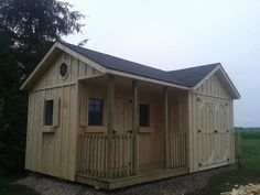 Brubacher Sheds Garage Playhouse Combo Yard And