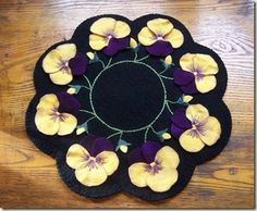 how to make penny rugs - Google Search