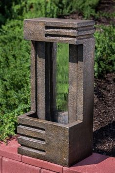 Tempio Outdoor Fountain #alfrescohome #exteriorhomescapes #fountains #garden #outdoor #decor #design
