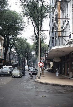 Saigon Palace Hotel, Saigon, South Vietnam, 1967, photograph by Ken.