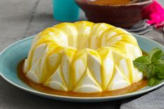 Creamy Gelatin with Passion Fruit Sauce Recipe - Kraft Recipes