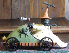 Wicked on Wheels from the Williraye Studio Halloween Collection $34.99 at the Cottage Gift Shop - Elmira, NY