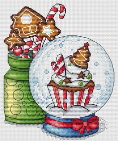 Ideas Embroidery Patterns Free Baby Punto Croce For 2019 Xmas Cross Stitch, Cross Stitch Christmas Ornaments, Cross Stitch Love, Cross Stitch Needles, Christmas Cross, Cross Stitch Designs, Cross Stitching, Cross Stitch Embroidery, Cross Stitch Patterns